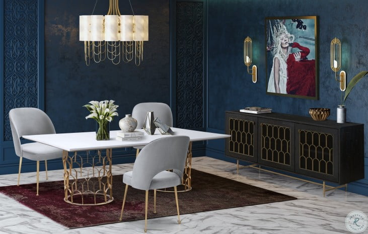 Gatsby Concrete Dining Room Set