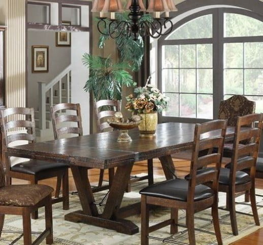 Castlegate Pine Extendable Rectangular Dining Table