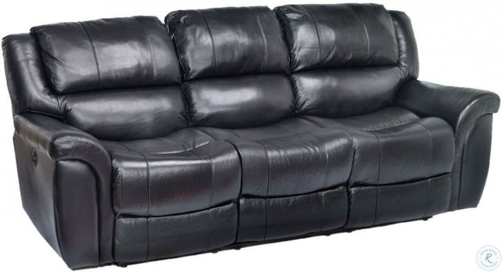 Dawson Black Leather Sofa Sleeper