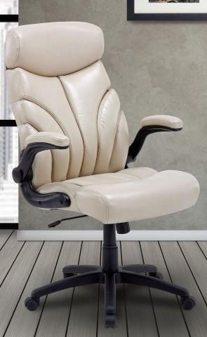 Signature Creme Lift Arm Desk Chair
