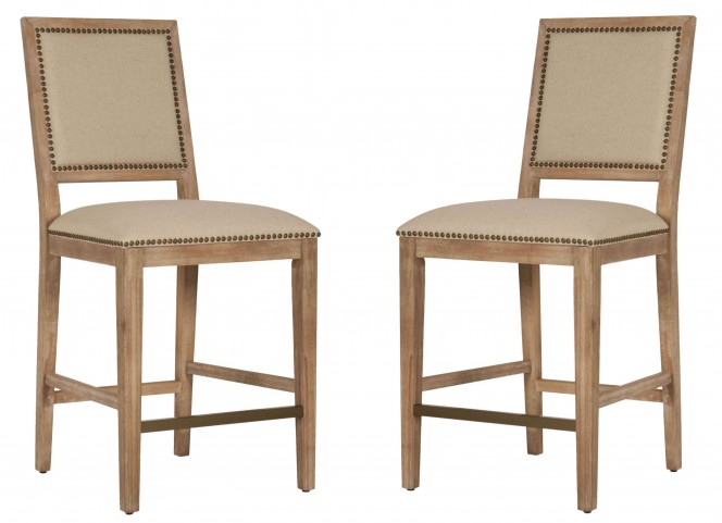 Dexter Stone Wash Counter Stool Set of 2