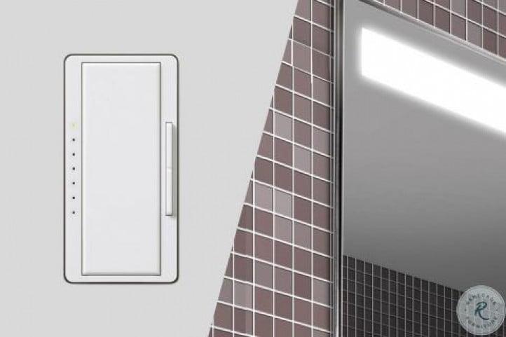 "Modello Light Grey 31"" 3000K Bathroom Cabinet"