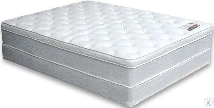 """Bird Of Paradise King 11"""" Euro Pillow Top Mattress"""