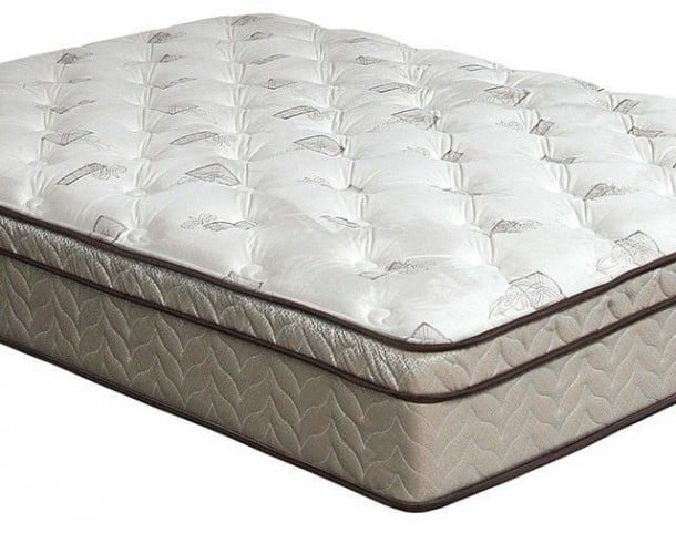 Lilium 13 Quot Euro Pillow Top Queen Mattress Dm318q M