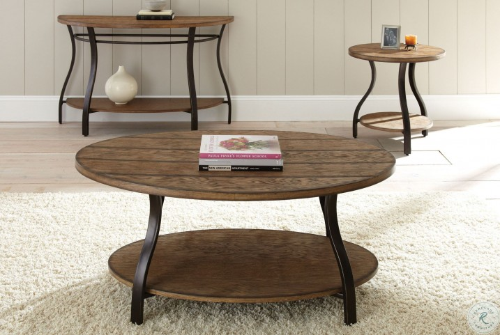 Denise Oak End Table