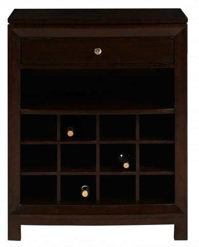 DS-2190-304 Dark Wood Wine Cabinet