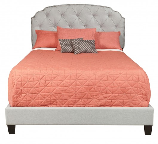 Trespass Marmor Queen Upholstered All-In-One Platform Bed