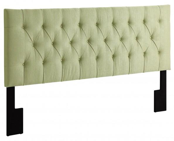 King-Cal. King Tuxedo Lime Upholstered Headboard