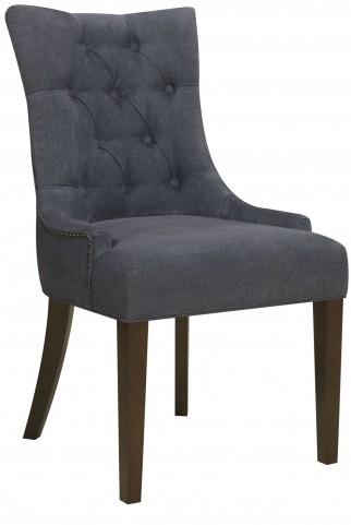 Darkwash Denim Dining Chair