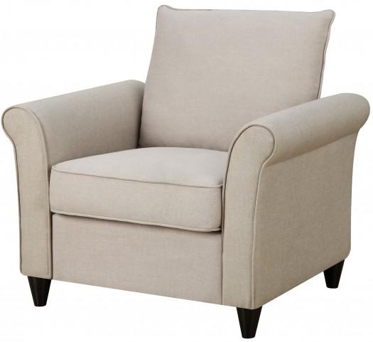 Rollarm Hayden Beige Chair