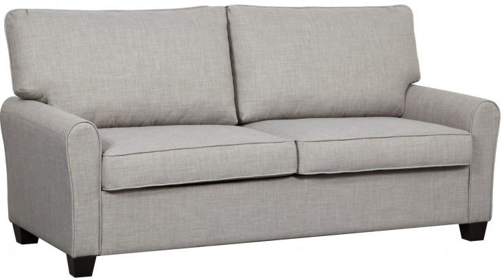 Track Dennison Grey Arm Sofa