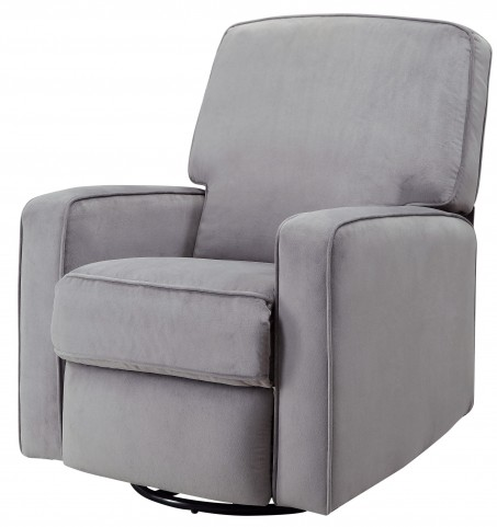 Groovy Sutton Stella Zen Grey Swivel Glider Recliner Spiritservingveterans Wood Chair Design Ideas Spiritservingveteransorg