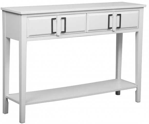Soft White Console Table