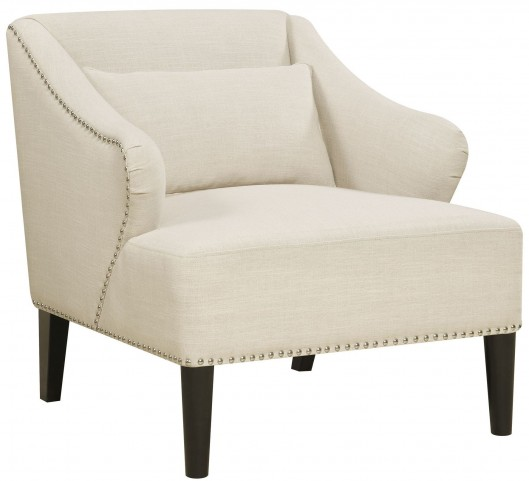 Celine Flour Beige Accent Chair