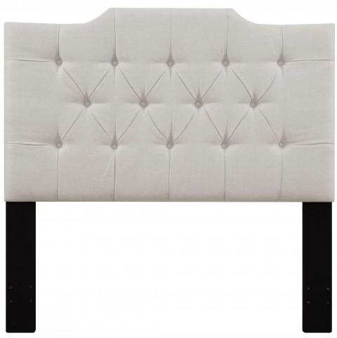Linen Full/Queen Upholstered Panel Headboard