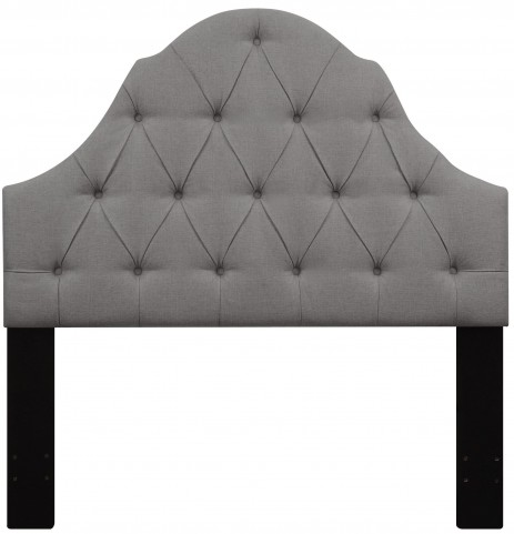 Ash Full/Queen Button Tufted Upholstered Headboard