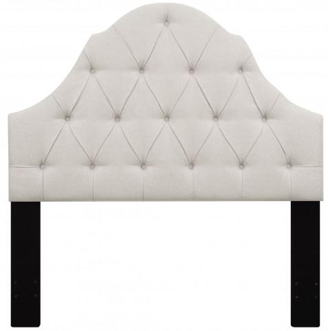 Linen Full/Queen Button Tufted Upholstered Headboard