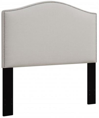 Linen King/Cal. King Nailhead Upholstered Headboard