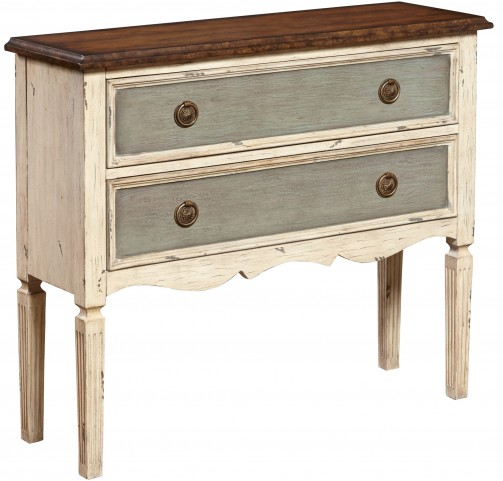 Two Drawer Hall Chest