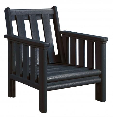 Stratford Black Deep Seating Chair Frame