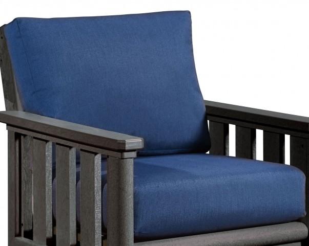 Stratford Indigo Deep Seating Cushion Set of 2
