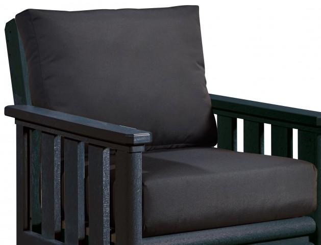 Stratford Black Deep Seating Cushion Set of 2