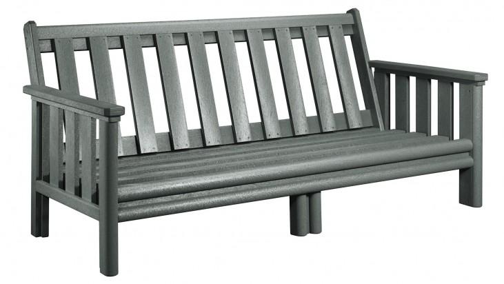 Stratford Slate Gray Deep Seating Sofa Frame