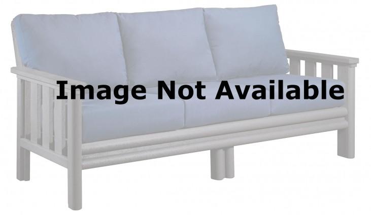 Stratford Beige Sofa With Berenson Tuxedo Sunbrella Cushions