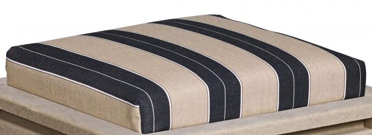 Stratford Berenson Tuxedo Small Ottoman Cushion