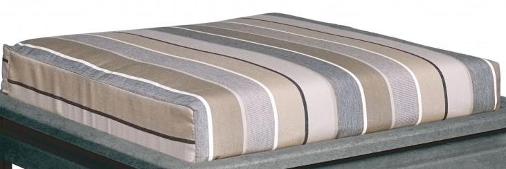 Stratford Milano Charcoal Large Ottoman Cushion