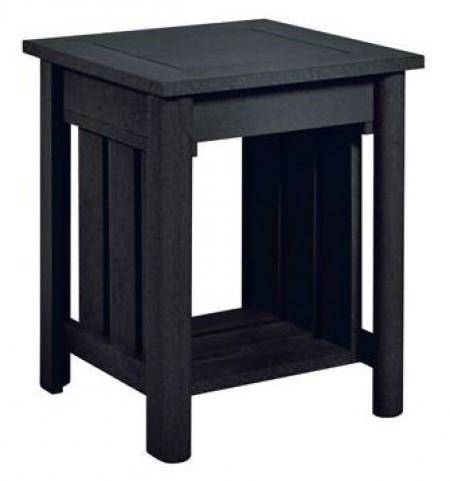 Stratford Black End Table