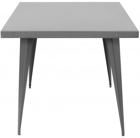 Austin Square Matte Grey Dining Table