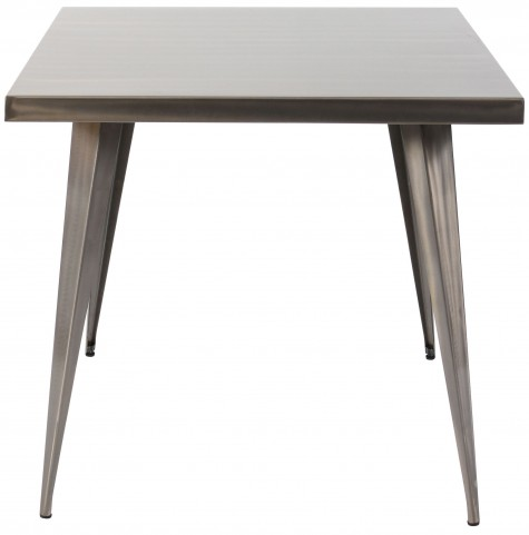 Austin Square Silver Dining Table