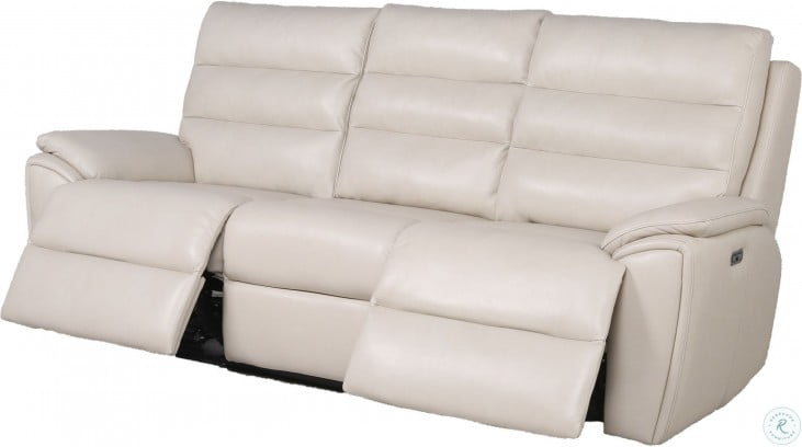 Duval Ivory Power Reclining Living Room Set