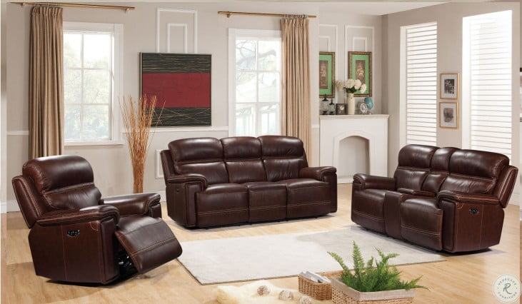 Amazing Shae Fresno Brown Leather Reclining Sofa Pabps2019 Chair Design Images Pabps2019Com
