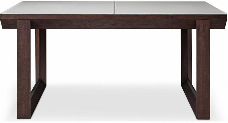 E537Y Extendable Rectangular Dining Table
