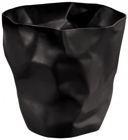 Lava Black Trash Bin