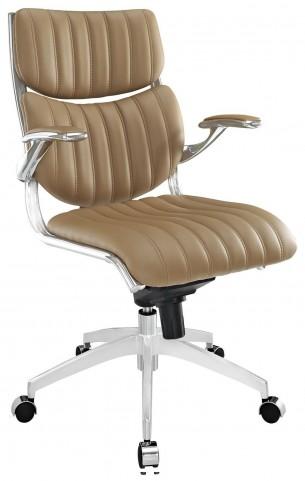 Escape Tan Midback Office Chair