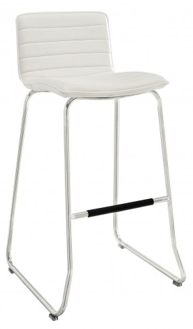 Dive White Bar Stool