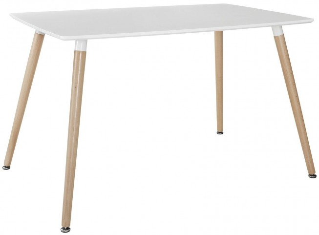 Field White Dining Table