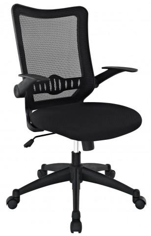 Explorer Black Mid Back Office Chair