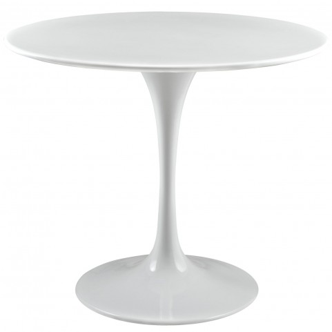 Lippa White 36 Inch Wood Top Dining Table