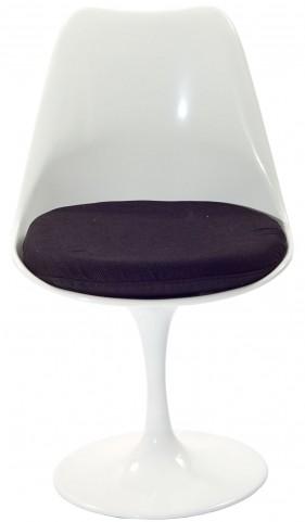 Lippa Side Chair with Black Cushion