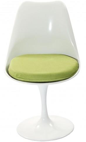 Lippa Side Chair with Green Cushion
