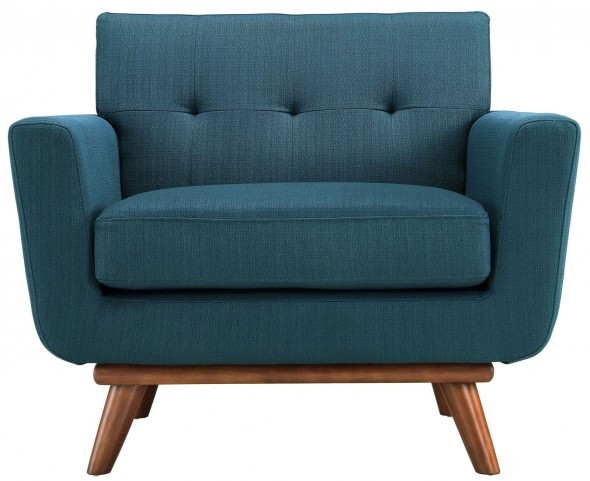 Engage Azure Upholstered Armchair