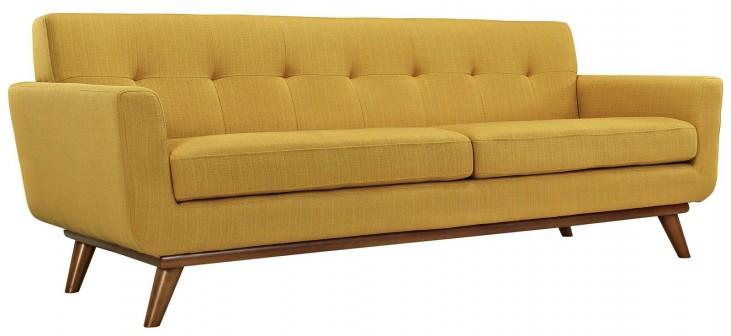 Engage Citrus Upholstered Sofa