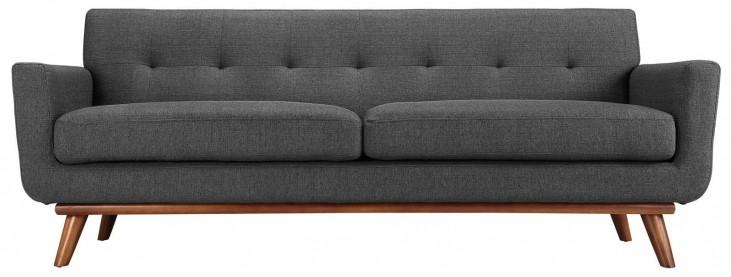Engage Gray Upholstered Sofa