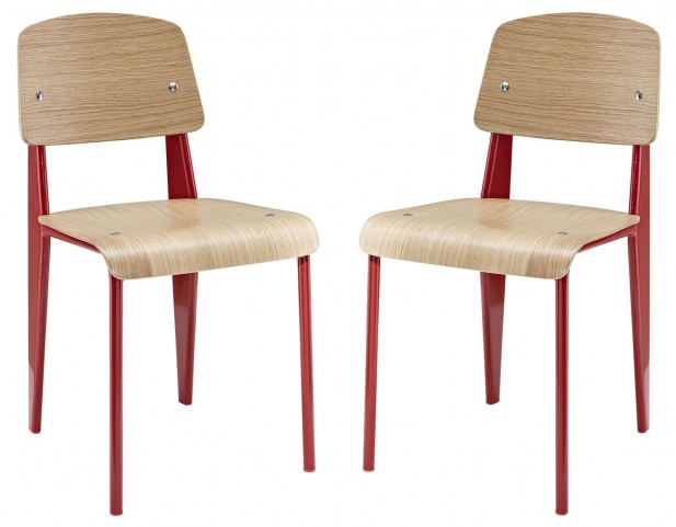 Cabin Red Dining Side Chair Set of 2