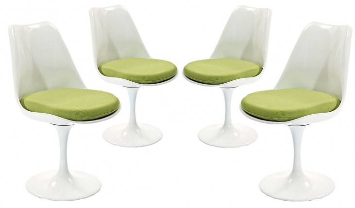 Lippa Green Dining Side Chair Set of 4