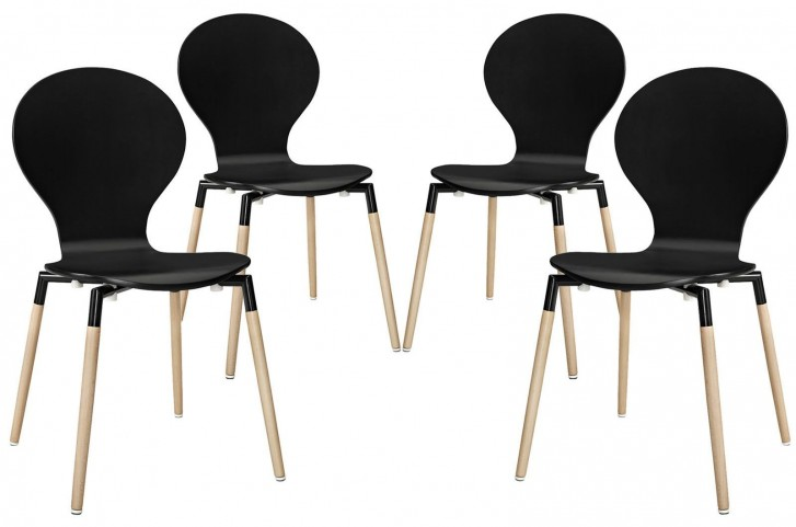 Path Black Dining Chair Set of 4